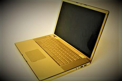 MacBook Pro 24 K gold ($30,000)